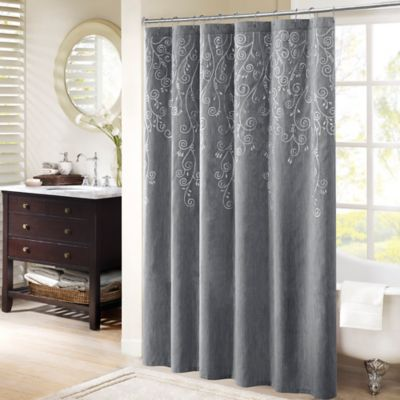 Madison Park Tara Embroidered Shower Curtain Bed Bath Amp Beyond
