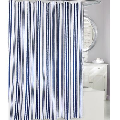 Buy Navy Shower Curtains From Bed Bath Amp Beyond