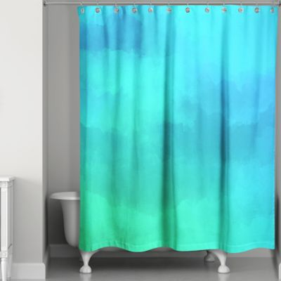 Buy Blue And Green Shower Curtains From Bed Bath Amp Beyond