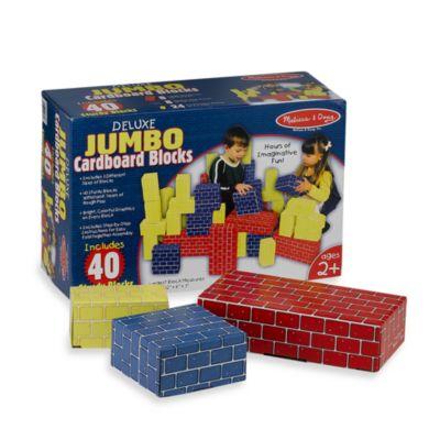 Melissa Amp Doug Deluxe Jumbo Cardboard Blocks Buybuy BABY