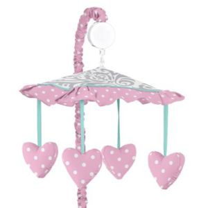 Buy Princess Baby Mobile from Bed Bath   Beyond Sweet Jojo Designs Skylar Musical Mobile