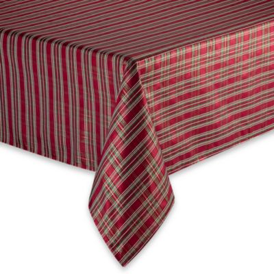 Christmas Plaid Tablecloth Bed Bath Amp Beyond