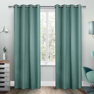 Buy Teal Curtain Panels From Bed Bath Amp Beyond