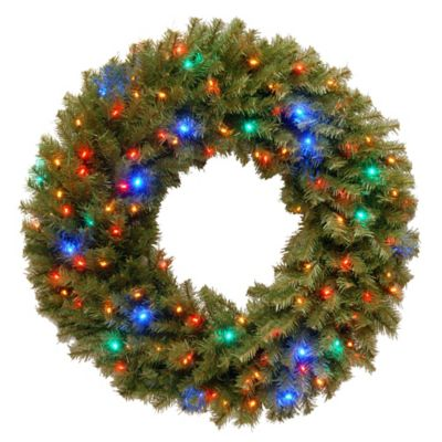 National Tree Company 36 Inch Norwich Fir Wreath With