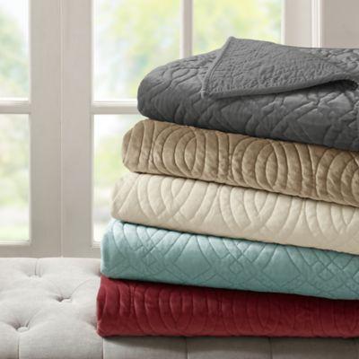 Bombay Taryn Velvet Throw Blanket Bed Bath Amp Beyond