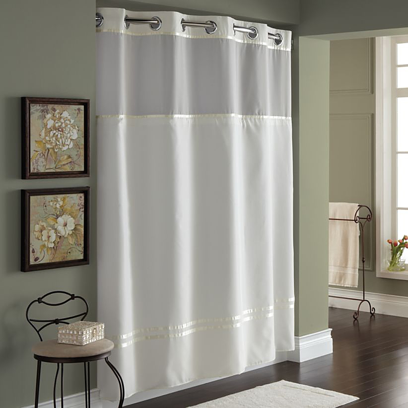 buying guide to shower curtain bed