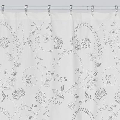 creative bath eyelet shower curtain