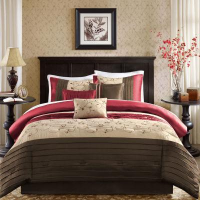 madison park belle 7 pc comforter set