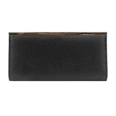 Mundi Slim Clutch RFID Blocking Slim Fold Wallet Color Black JCPenney