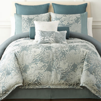 Liz Claiborne Imperial 4 Pc Comforter Set Color Blue