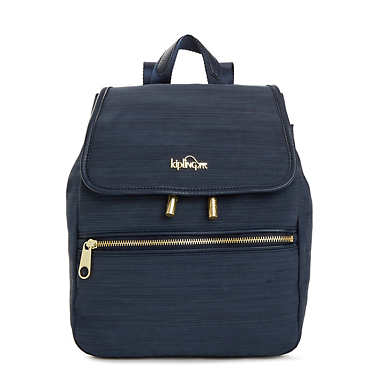 Fashion Backpacks   Stylish and cool book bags  Kipling Claudette Small Backpack   True Dazz Navy