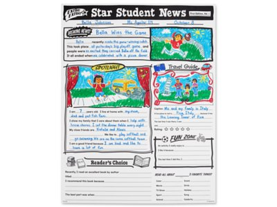 star student all about me posters set of 30