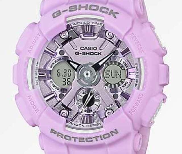 G Shock Gmas120 Light Lavender Watch