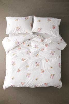 mabel floral print duvet cover