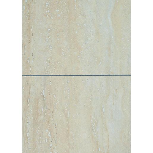 wickes travertine tile laminate sample