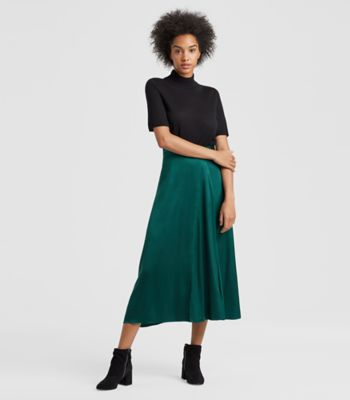 Dresses   Skirts for Women and Midi Dresses   EILEEN FISHER PINE