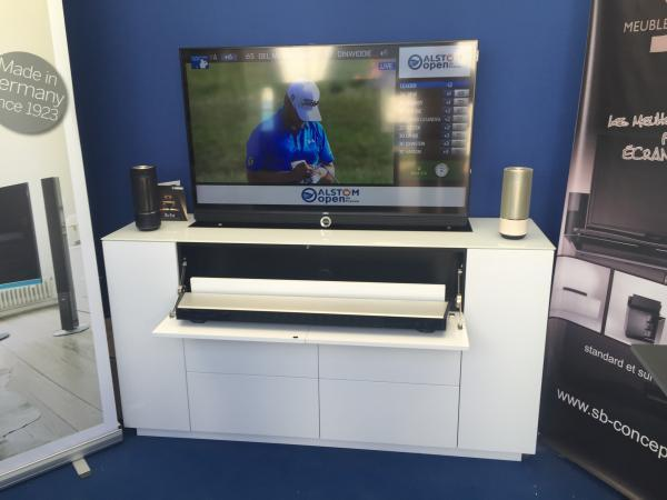 Meuble Tv Motorise Sb Concept Tv Loewe Yamahameuble Tv H
