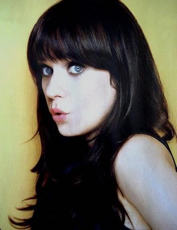 acrtess beautiful black and white blue eyes image on favim