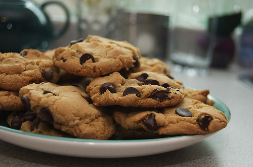 Image result for chocolate chip cookies tumblr