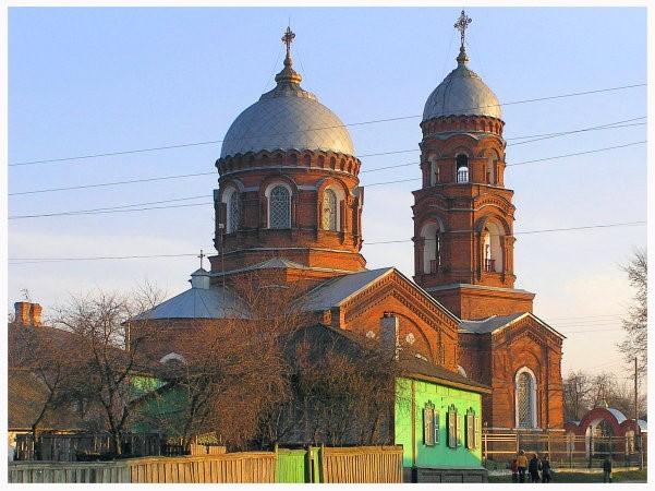 Лебедин. Миколаївська церква (1912—1914).