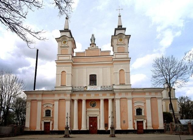 Житомир. Кафедральний костел Святої Софії