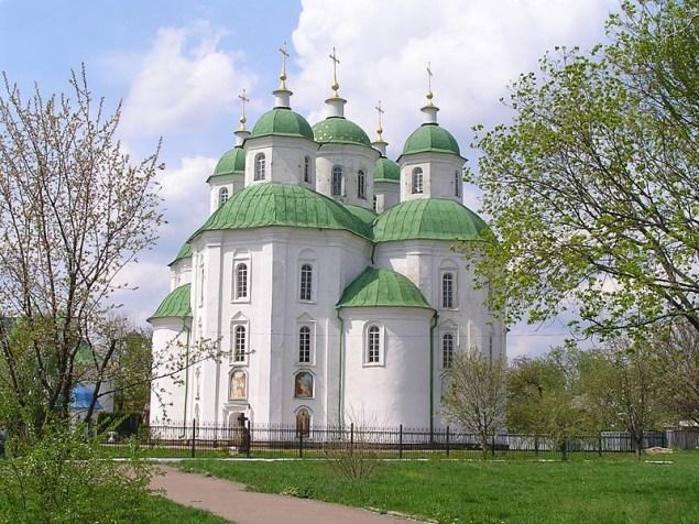 Прилуки. Спасо-Преображенський собор (1720)