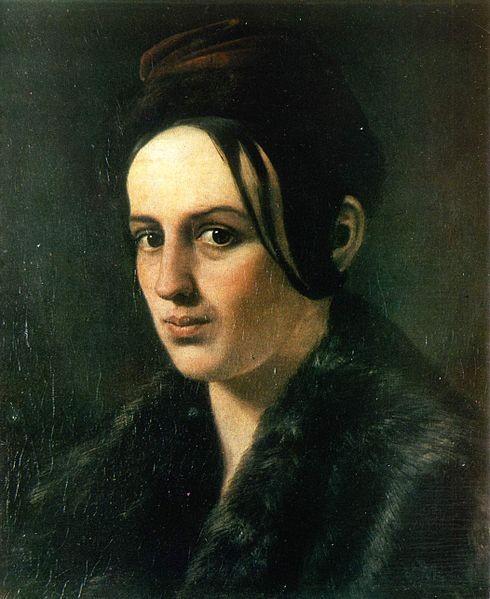 Варвара Рєпніна. Портрет роботи Глафіри Псьол (1839).  newssky.com.ua
