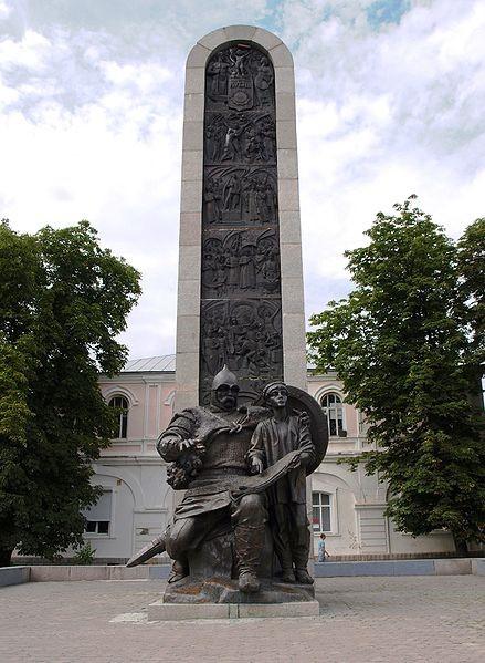 Лубни. Монумент тисячоліттю Лубен