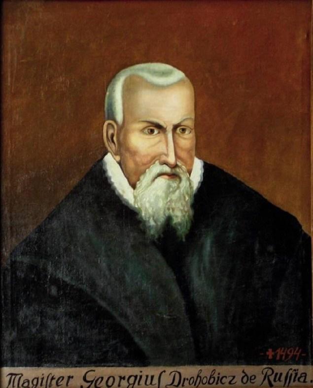 «Магістр Георгій Дрогобич із Русі»