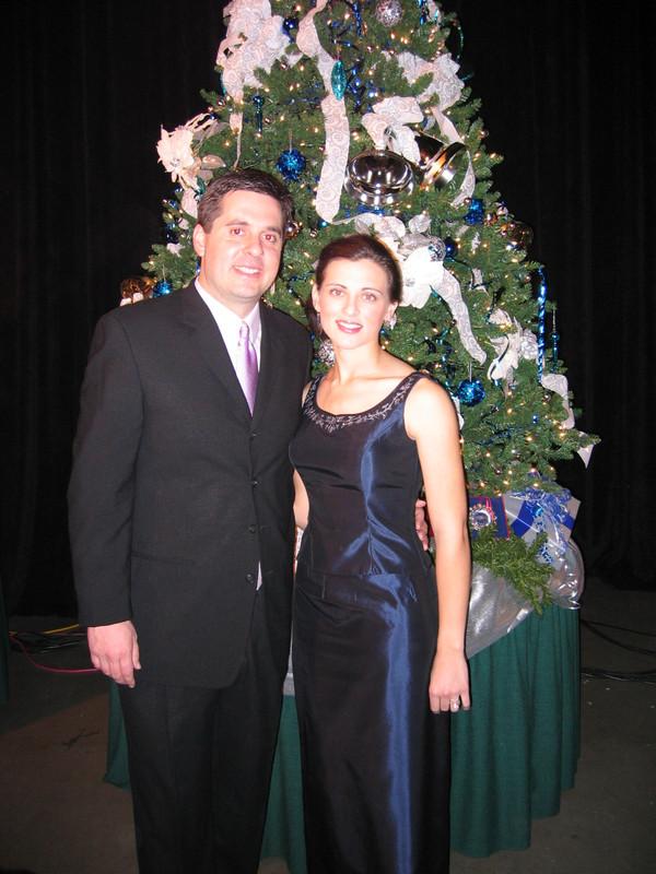 Devin Nunes with his wife Elizabeth Nunes