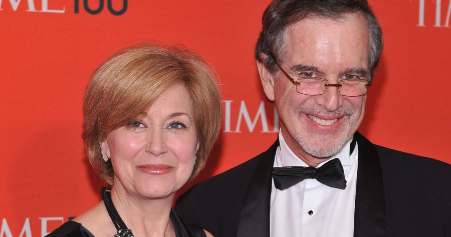Jane Pauley with her husband Garry Trudeau