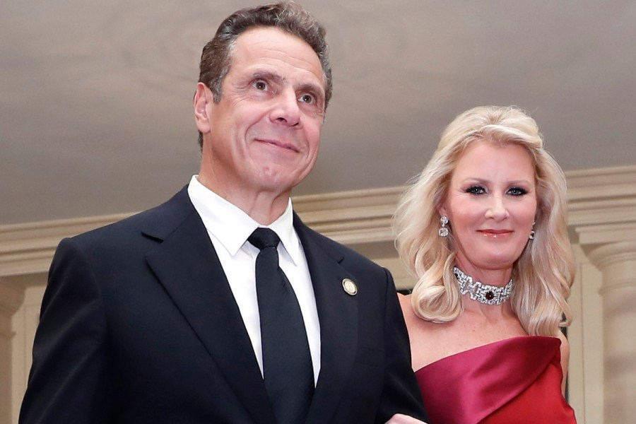 Sandra Lee with her boyfriend Andrew Cuomo. He is the governor of New York.
