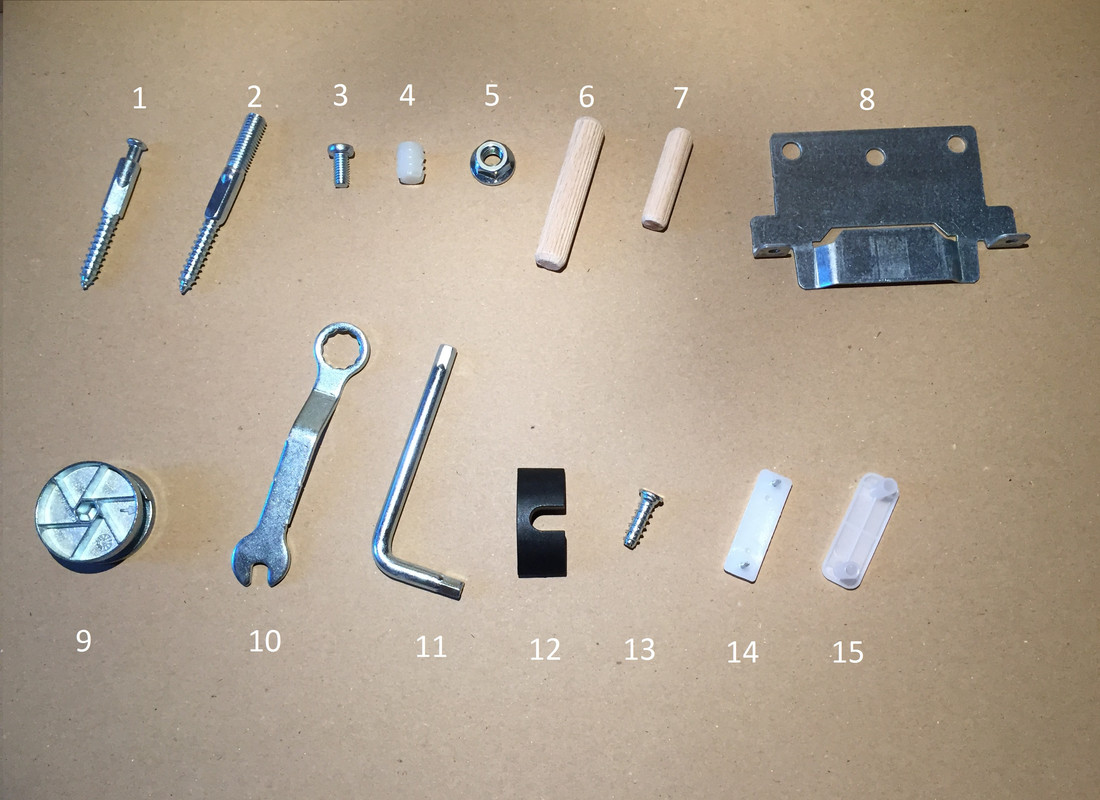 Ikea Malm Complete Set Of Screws And Fixings High Amp Low