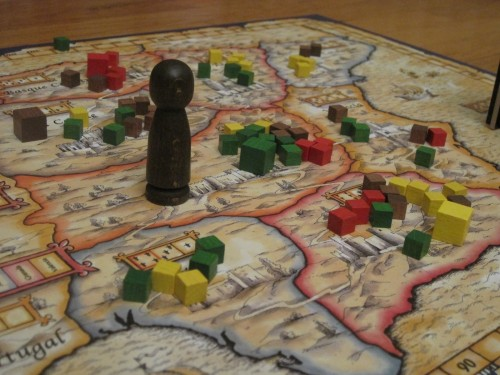 El Grande game in progress