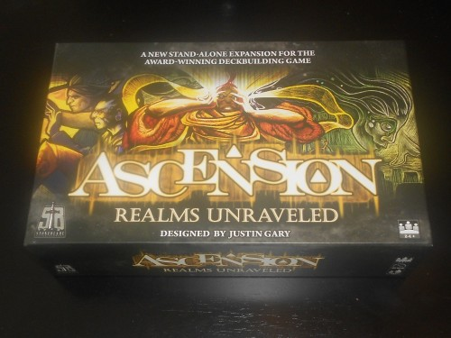 Ascension: Realms Unraveled - Cover