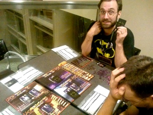 Gen Con 2014 Andrew - Tragedy Looper Playing