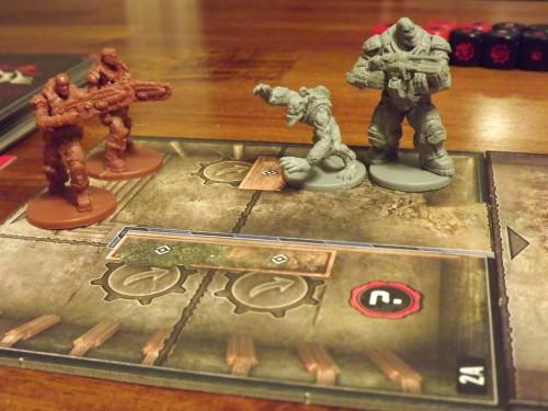Gears of War Initial fight