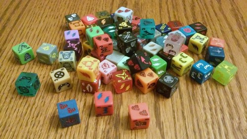 I like lots of dice, and I cannot lie.