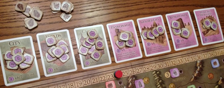 These victory points add up to considerably more than token amounts...