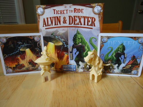 Alvin and Dexter - Components