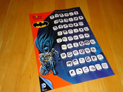 Story Cubes Batman Icon Sheet