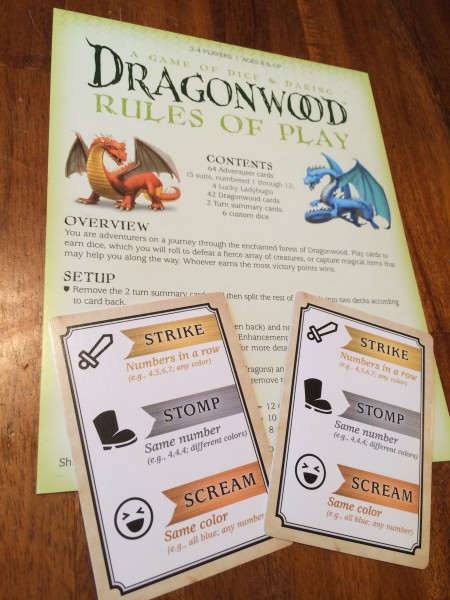 Dragonwood Rules
