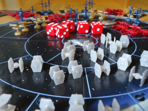 Star Wars Risk Tie Fighters