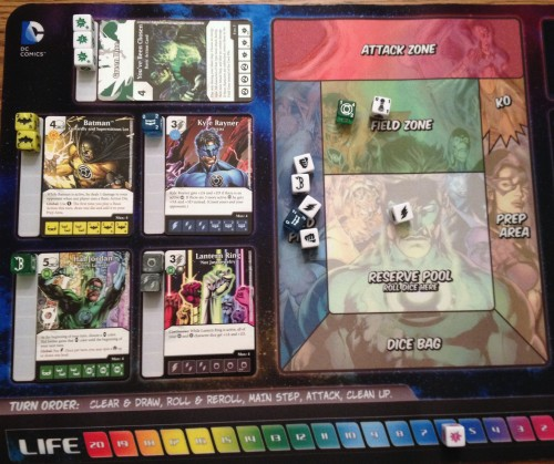 Every Dice Masters game should be played on a pretty mat.