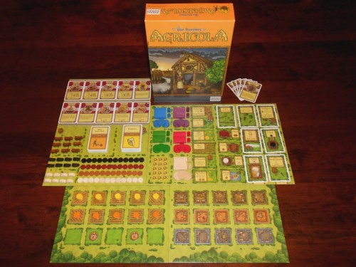 Agricola - Box and Components