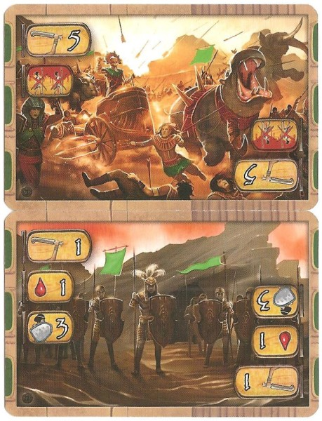 The new battle cards.