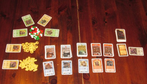 The setup with each role card by what it targets. There are lots of ways to get what you want in Witch's Brew.
