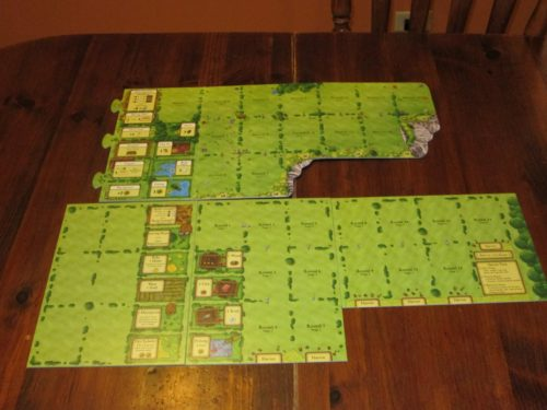 Agricola game board