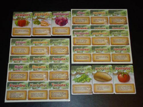 Veggie Garden Languages