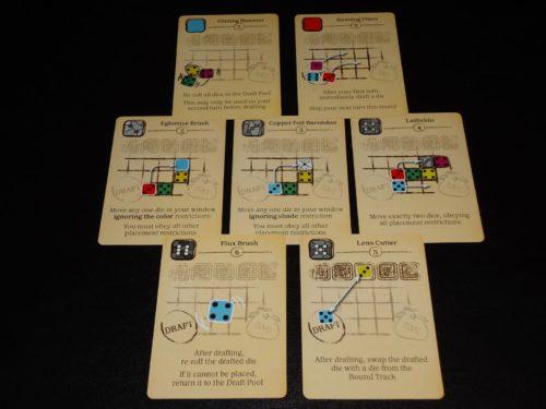 Sagrada - Tool Cards